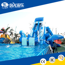 summer new design cheap inflatable water slides for kids and adults