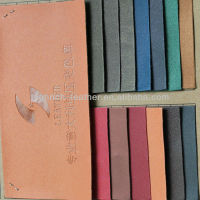 HOT!!!2013 New fashion PU leather fabric for spectacles case and garments