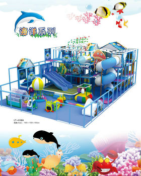 2014 Hot sale indoor playground equipment naughty castle for sale