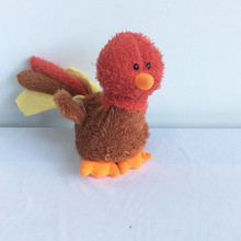 flying turkey love birds stuffed plush bird toys