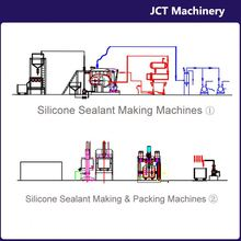 machine for making extensive use outdoors silicone structural sealant