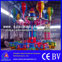 High quality play equipment amusement 24 seats head shake samba balloon