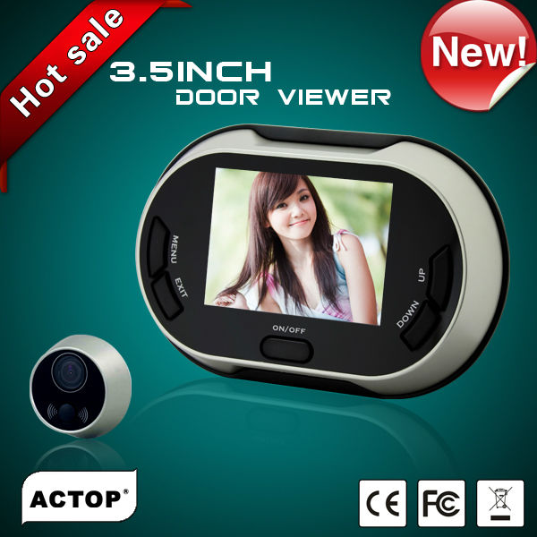 3.5 inch TFT color display reverse peephole viewer PHV-3502