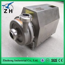 food grade stainless steel sanitary Centrifugal pump water pump 7.5 hp 7.5kw water pump