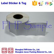 High quality latest design non removable blank label sticker