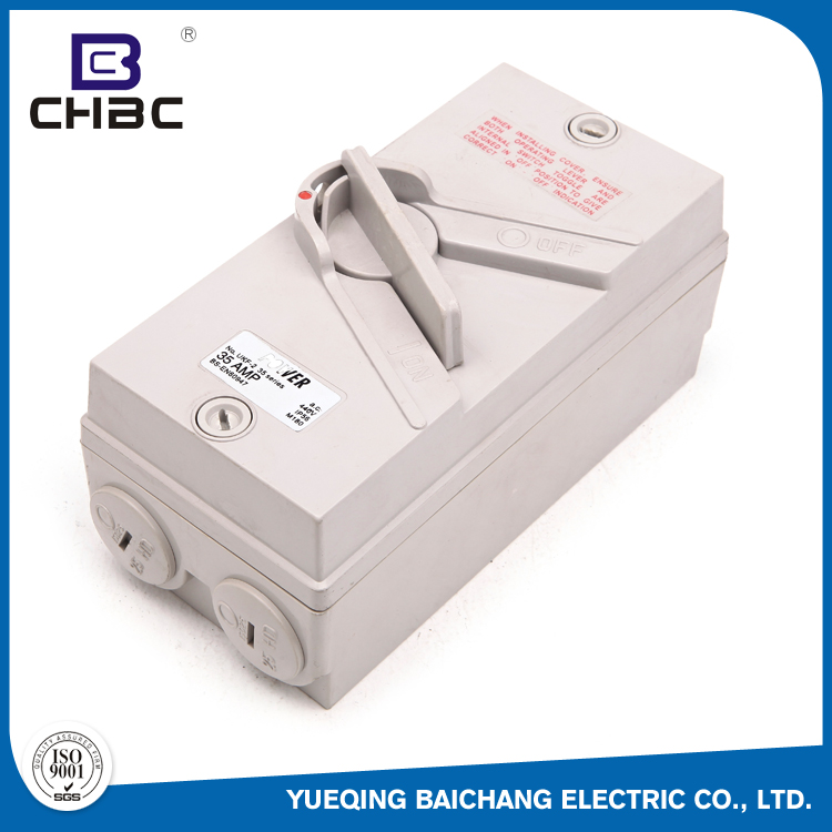 CHBC New Trend Product 500V 63A IP56 Water-Proof Safety Isolating Switch