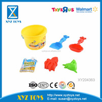 2016 Hot Sell Summer Plastic Bucket And Shovel Beach Toy Set