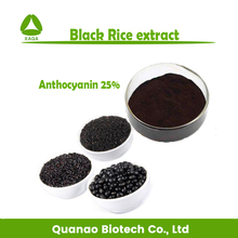 Natural Anthocyanin 25% black rice extract powder 10:1