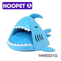 2016 Shark shaped pet house tiny beds dog sleeping bag