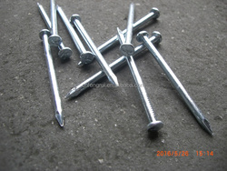 "factory from linyi ""K"" head concrete steel nails with cheaper price"
