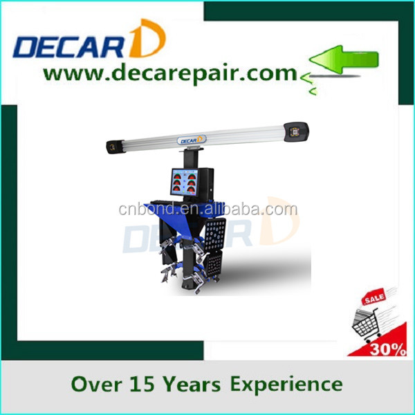 DK-V3DI 3D wheel alignment for vehicle testing machine,car and truck wheel alignment machine