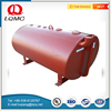 Carbon steel and fiberglass gas station diesel fuel storage tank