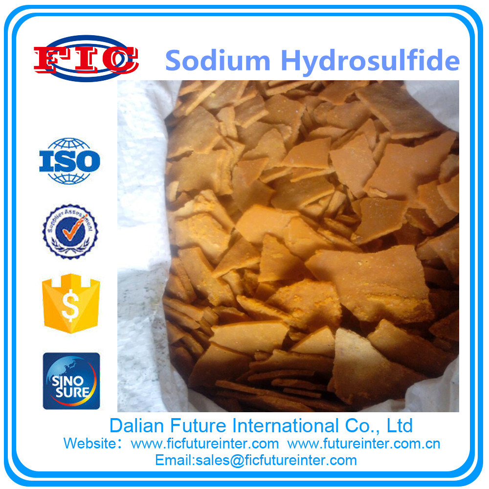 CAS No.16721-80-5 Sodium hydrosulfide use for medical intermediate