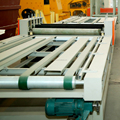 large production line Sanding mgo board laminating machine in China