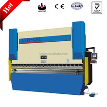 Servo Hydraulic stainless steel press brake machine/sheet bending machine