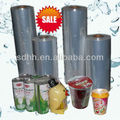 Transparent polyolefin shrink heat wrap packing