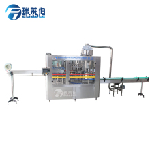 Professional 18 heads automatic fruit juice filling & sealing machine plant