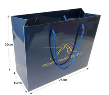 Custom production paper bag, promotional gift paper bag