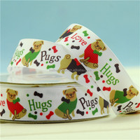 Hot sale cartoon character printed grosgrain ribbons imported