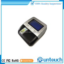 Runtouch POS 2 in 1 Mini Counterfeit money Dollar Bill Detector US Euro Pound Fake Currency