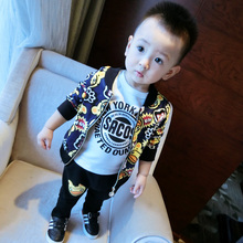 New Fashion Boys Boutique Outfits Frock Designs Children Clothes For Wholesale