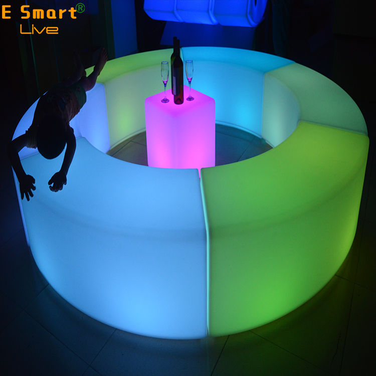 led cocktail bar table led furniture for rent haibadz