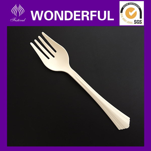 High quality large disposable hard plastic salad forks