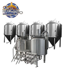 500L Beautiful Beer Production Machine / Beer Making Machine