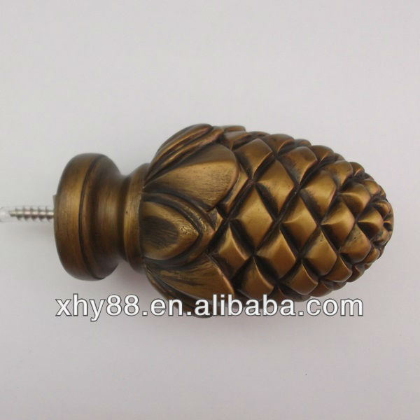 XW-052 Bronze Decorative Curtain Rods