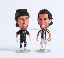 Football Player figure For World Club/Wholesale Famous men Soccer Player/Custom plastic Football team player factory