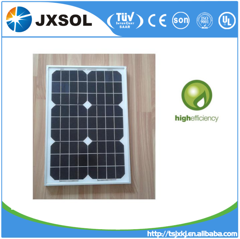 Small Mono Crystalline Silicon Photo Voltaic Solar Cells 25w mono mini solar panels