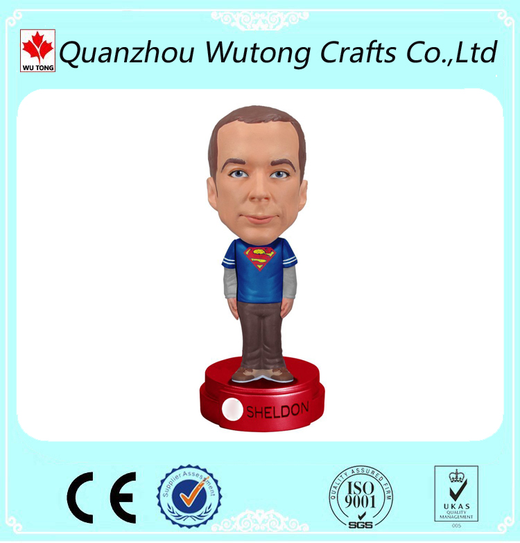 Custom Cheap Figures for Wacky Wobbler Bobble Head Sheldon