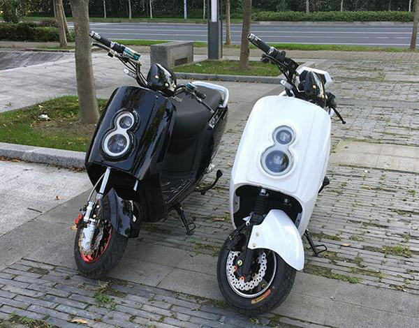 800W Fast Speed 2 Wheel Scooter Racing Electric Motorcycle