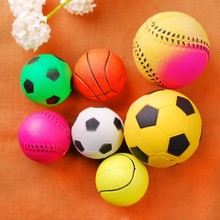 new high quality solid bouncy ball, rugby football pet ball toy, silicone rubber pet toys for dog
