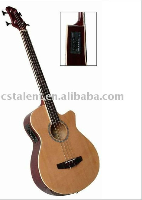 40'' Acoustic Bass Guitar with high quality