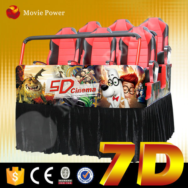 Newest technology 7d cinema simulator 7d theatre set up cost in india 6d cinema game machine with 12Special Effect