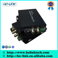 1/2/4/8-Channels SDI series fiber converter support FC/ST/SC optional conector, Tx1310nm/R1550nm, single mode 20km