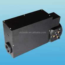 Electrical welding head for laser equipment