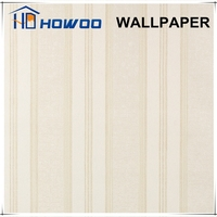 Cheap price simple wood patterns vinyl hotel room wallpaper