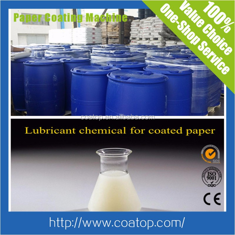 Chemicals for paper coating paper making