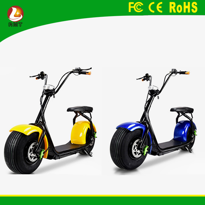 Fashion city fat tire 2 wheels mobility scooter electric scooter motorcycle