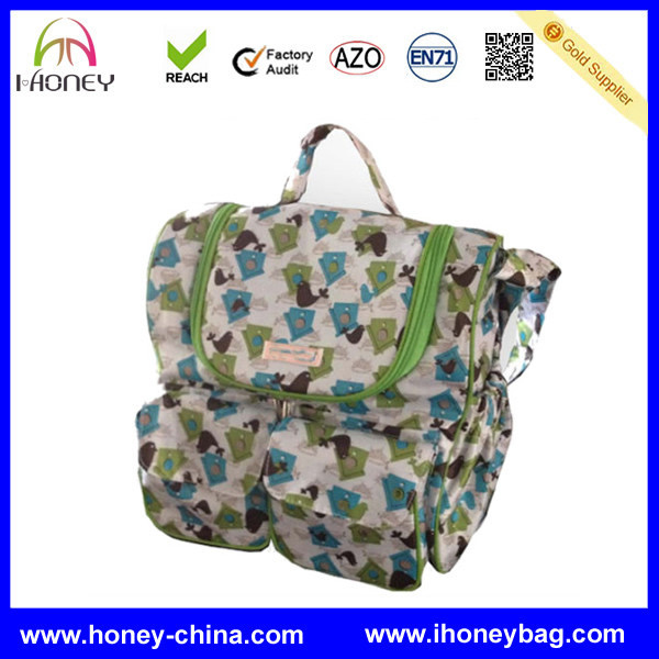 best selling items with CE certificate zig zag diaper bag