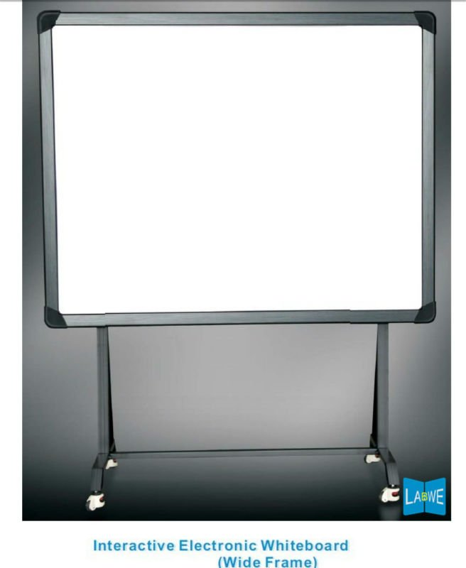 mobile interactive whiteboard projection screen with floor stand buy mobile interactive interactive teaching board - Electronic Whiteboard