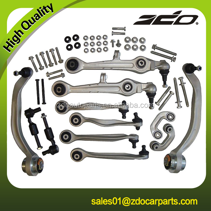 Front control arm kit 13 pc A4 A6 S4 VW Passat suspension upper arm quality car parts 8D0498998 8D0 498 998 8D0498998B