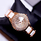 Luxury diamond high quality diamond watch lady