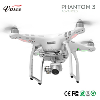 New arrival dji phantom 3 pro aerial Drone Quadcopter Kit W/ 2.7K UHD Camera & 3-Axis Brushless Gimbal (one battery)