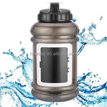 Best selling 2.2L BPA free plastic water bottle for sports with LFGB certificate in UK