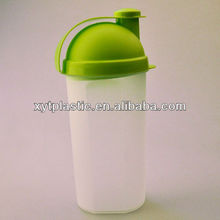 Wholesale 600ml pp shaker protein bottle,empty bottle water drinking