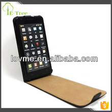 for Genuine Leather Ultra Slim Flip Case White For SAMSUNG GALAXY S2 S-II i9100 Mobile Phone