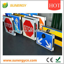 wholesale easy installed solar powered led traffic sign